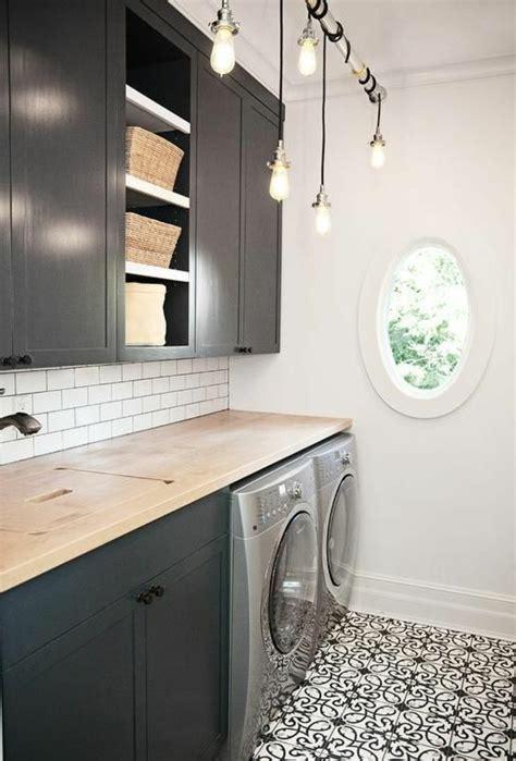 eclairage sous meuble haut cuisine 1001 idées comment aménager sa buanderie fonctionnelle