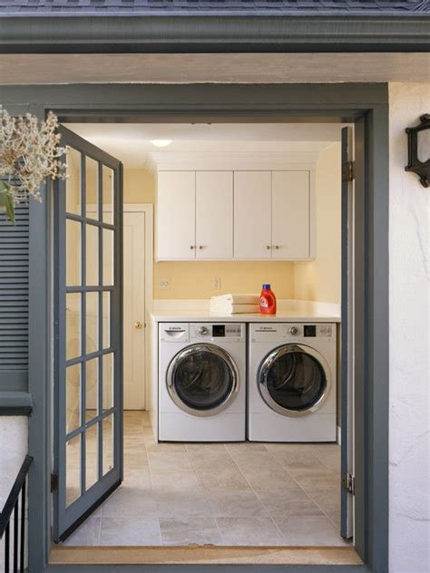 traditional laundry room fireplace design pictures