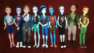 Monster High Boy Dolls Names
