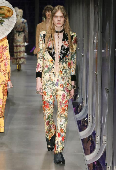 gucci fall menswear runway show doubled