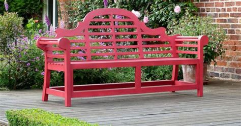 painted lutyens bench  sale garden benches painted
