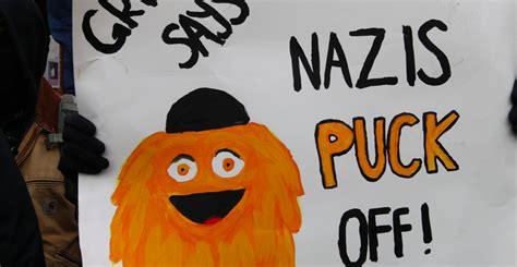 gritty antifa left mascot symbol licensed bishop sam dailydot