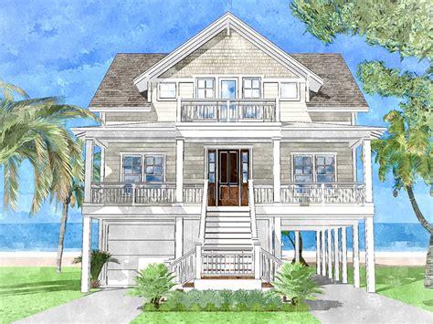 Upside Down Beach House 15228NC Architectural Designs