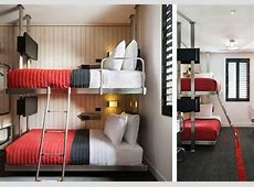 Pod Hotel in Brooklyn Bunk Pod room « Inhabitat – Green