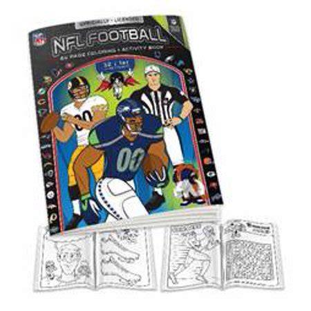 psg nfl team coloring book walmartcom