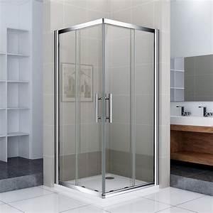 Duschtrennwand Bodengleiche Dusche : duschkabine duschabtrennung schiebet r eckeinstieg dusche ~ Michelbontemps.com Haus und Dekorationen