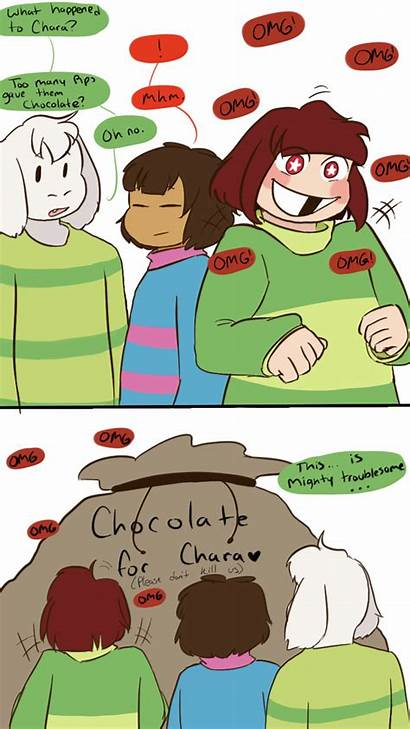 Chocolate Deviantart Covered Channydraws Rps Chara Undertale