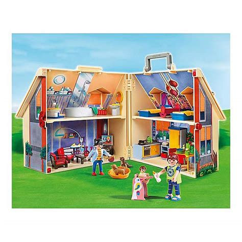 5167 maison transportable playmobil dollhouse playmobil