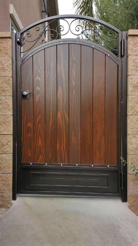 supply  install custom wood gate  orange county yelp