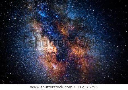 Milky Way Over Malfatano Cape Stock Photo
