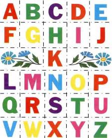 Alphabet Letters to Print and Cut Out