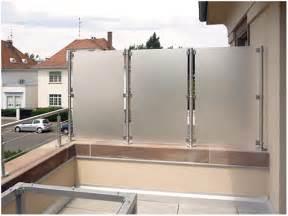 balkon sichtschutz plexiglas billige sichtschutz fur balkon innen und möbel inspiration