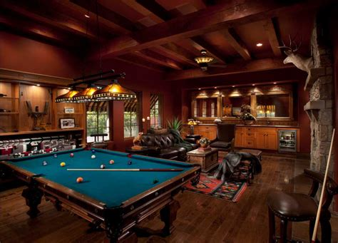 pool table in living room traditional living room with billiard table