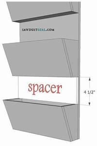 letter bin organizer sawdust girlr With letter bin
