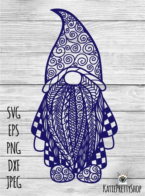 Gnome zentangle svg gnome mandala svg file 406549 svgs. Layered Mandala Gnome Svg Design - Layered SVG Cut File