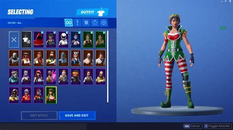 leaked skins   winter themed  christmas