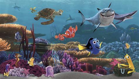 York Wallcoverings Walt Disney Kids Ii Finding Nemo Wall