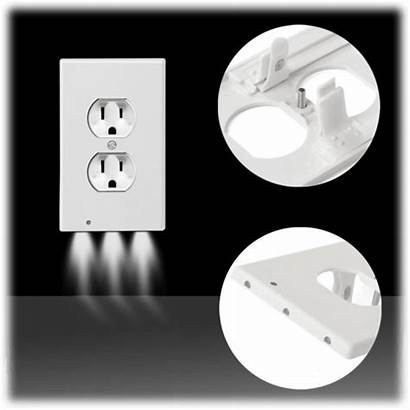 Outlet Led Night Plate Lights Covers Plates