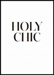 Schwarz Weiß Sprüche : holy chic schwarz wei poster cricut pinterest spr che typografie poster and poster spr che ~ Orissabook.com Haus und Dekorationen