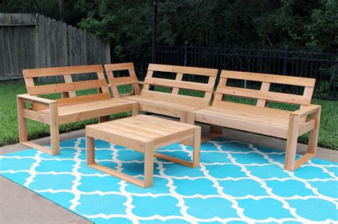 free diy outdoor sofa plans gray house studio