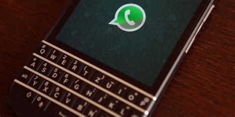 whatsapp blackberry support    year huffpost uk