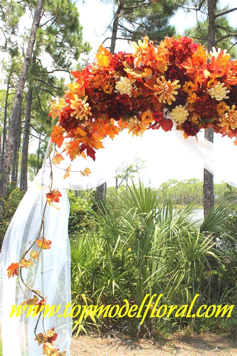 Fall Wedding Arch And Decorating Ideas Unique Floral