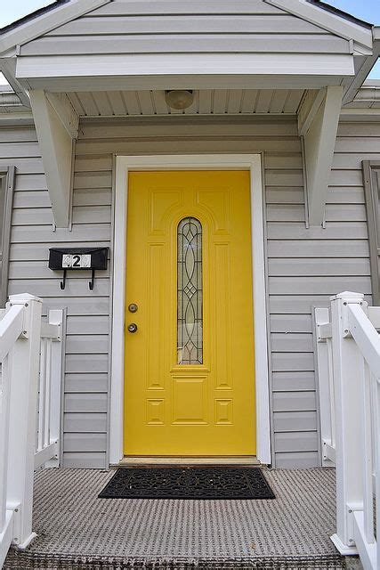 paint color is gold buttercup by olympic found at lowes front door exterior house colors