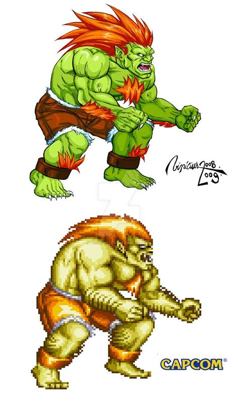 1000 Ideas About Blanka Street Fighter On Pinterest