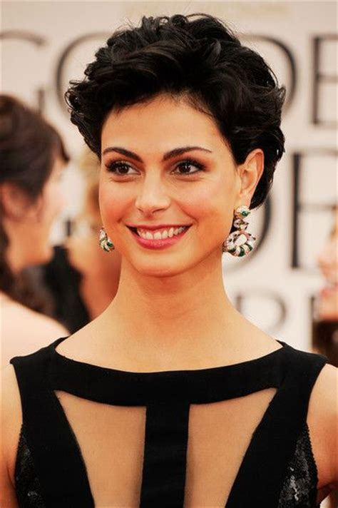medium hair styles images more pics of morena baccarin curls hairstyles 8451