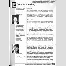 (pdf) Difficulties In Reading Comprehension For Students