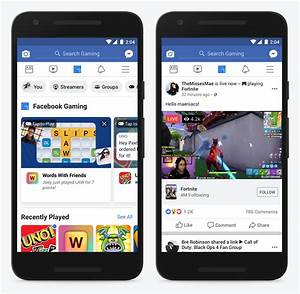 Facebook adds tab to new gaming hub on main app
