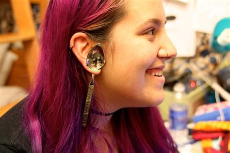 piercings for guys in pursuit of stretched ears the daily californian