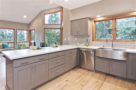rustic kitchen backsplash tile kitchen cabinet cool top peerless light gray shaker