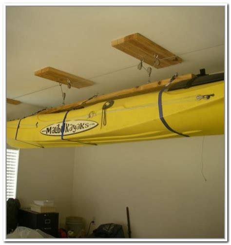 kayak hoist ceiling rack kayak storage hoist best storage ideas website