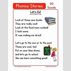 This Reading Comprehension Worksheet  Let's Go! Is For Teaching Reading Comprehension Use This
