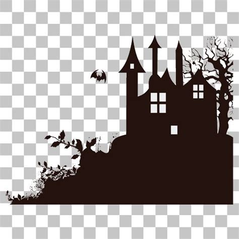 haunted house png image  transparent background
