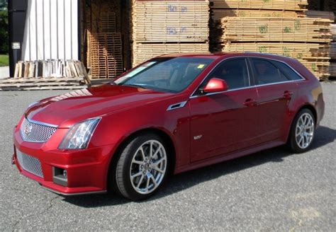 2014 Cts V Wagon by 362 Mile 2014 Cadillac Cts V Wagon 6 Speed For Sale On Bat