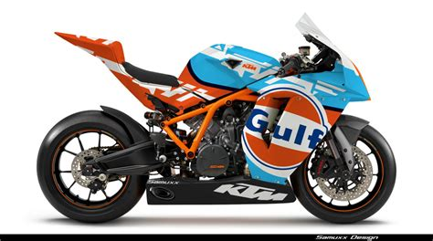 gulf racing motorcycle ktm gulf by samuxx on deviantart
