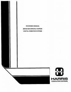File Harris Series 500 Reference Manual  May 1978  Pdf