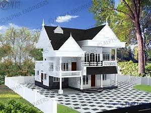 Traditional Kerala House In Low Cost