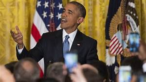 Obama to White House heckler: 'You're in my house ...
