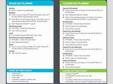 Isagenix Cleanse Day Tips, Benefits & Planner