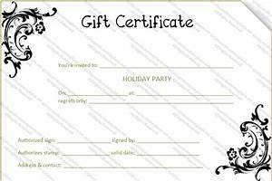 black flower gift certificate template gift certificates With black and white gift certificate template free