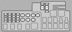Lexus Es330  2004 - 2006  - Fuse Box Diagram