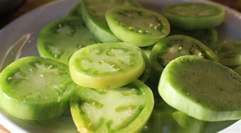 cuisiner des tomates vertes tomates vertes frites green fried tomatoes recettes véganes