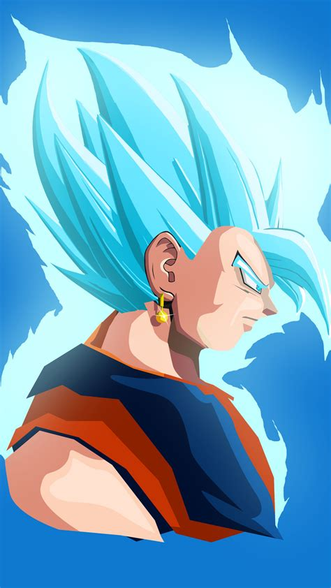 wallpaper vegeta dragon ball minimal  anime