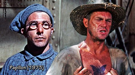 Despite the harshness of solitary confinement, brutal conditions and constant threats of betrayal, papillon leads a desperate escape off. Five Things I Never Realized about Papillon - Magic of History | Historical film, Steve mcqueen ...