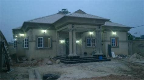 cost  foundation  rooofing level    bedroom bungalow properties nigeria