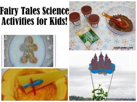 tales theme for preschool 1500 total giveaway 775 | Fairy Tales Science Collage