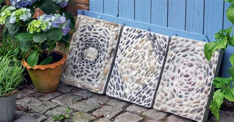 Trittplatten Für Rasen by Mosaikplatten Aus Beton Selber Machen Garten Ideen